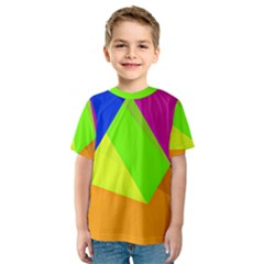 Geo Fun 15 Kid s Sport Mesh Tees