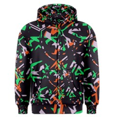 Broken pieces Men s Zipper Hoodie