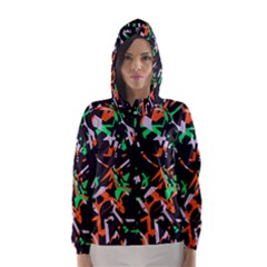 Broken Pieces Hooded Wind Breaker (women)