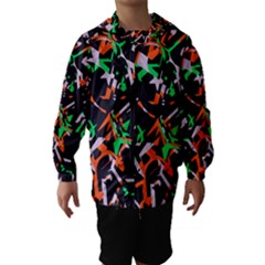 Broken Pieces Hooded Wind Breaker (kids)