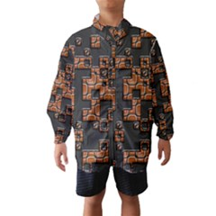Brown pieces Wind Breaker (Kids)