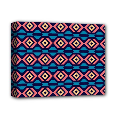 Rhombus  pattern Deluxe Canvas 14  x 11  (Stretched)