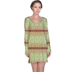 Aztec pattern nightdress