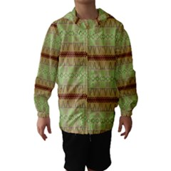 Aztec Pattern Hooded Wind Breaker (kids)