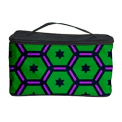 Stars in hexagons pattern Cosmetic Storage Case
