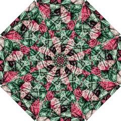Luxury Grunge Digital Pattern Hook Handle Umbrellas (Small)