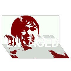 Psycho ENGAGED 3D Greeting Card (8x4)