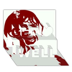 Psycho Get Well 3D Greeting Card (7x5)