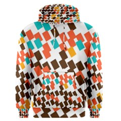 Rectangles On A White Background Men s Pullover Hoodie