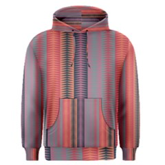 Triangles and stripes pattern Men s Pullover Hoodie
