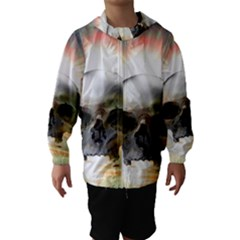 Skull Sunset Hooded Wind Breaker (Kids)