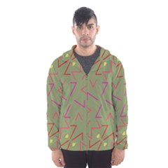 Angles Mesh Lined Wind Breaker (Men)