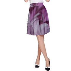 Purple! A-Line Skirt