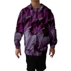 Purple! Hooded Wind Breaker (Kids)
