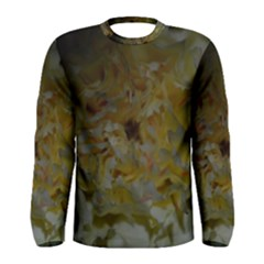 Yellow Flower Men s Long Sleeve T-shirts