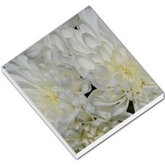 White Flowers 2 Small Memo Pads
