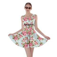 Raining Roses Skater Dress