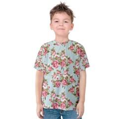 Raining Roses Kid s Cotton Tee