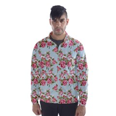 Roses2 Wind Breaker (Men)