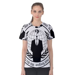 Anonymous Seal  Women s Cotton Tees