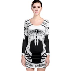 Anonymous Seal  Long Sleeve Bodycon Dresses