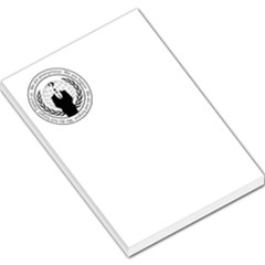 Anonymous Seal  Large Memo Pads