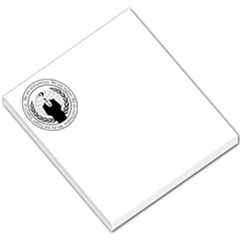 Anonymous Seal  Small Memo Pads