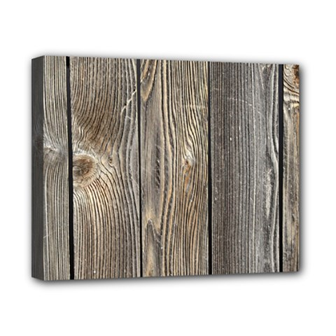 Wood Fence Canvas 10  X 8