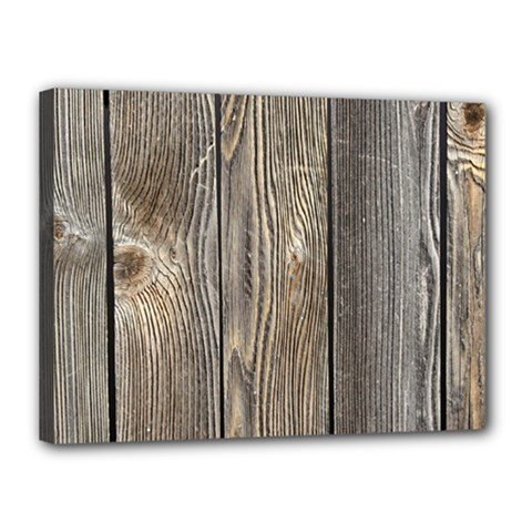 Wood Fence Canvas 16  X 12