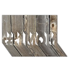 WOOD FENCE #1 MOM 3D Greeting Cards (8x4)