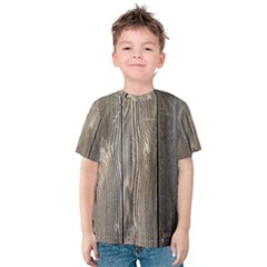 Wood Fence Kid s Cotton Tee