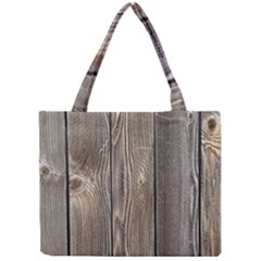 Wood Fence Tiny Tote Bags