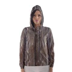 WOOD FENCE Hooded Wind Breaker (Women)