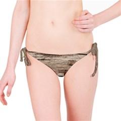 Weathered Wood Bikini Bottoms