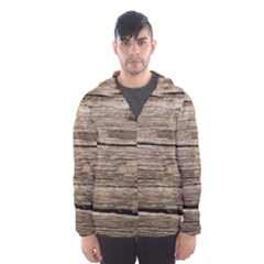 WEATHERED WOOD Hooded Wind Breaker (Men)