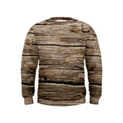 Weathered Wood Boys  Sweatshirts