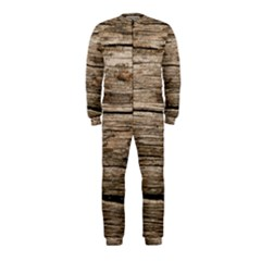Weathered Wood Onepiece Jumpsuit (kids)