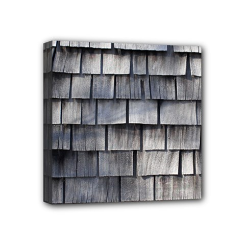 Weathered Shingle Mini Canvas 4  X 4