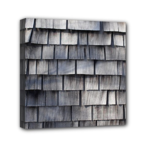 Weathered Shingle Mini Canvas 6  X 6