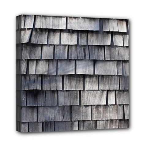 Weathered Shingle Mini Canvas 8  X 8