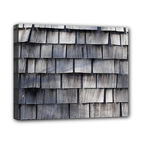 Weathered Shingle Canvas 10  X 8