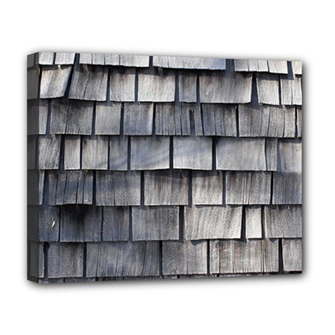 WEATHERED SHINGLE Deluxe Canvas 20  x 16