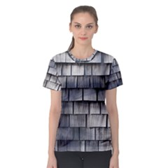 WEATHERED SHINGLE Women s Sport Mesh Tees