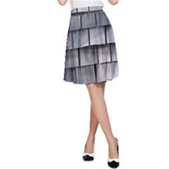 Weathered Shingle A Line Skirt