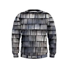 Weathered Shingle Boys  Sweatshirts