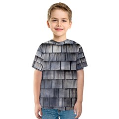 WEATHERED SHINGLE Kid s Sport Mesh Tees