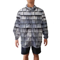 WEATHERED SHINGLE Wind Breaker (Kids)