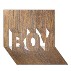 WALNUT BOY 3D Greeting Card (7x5)