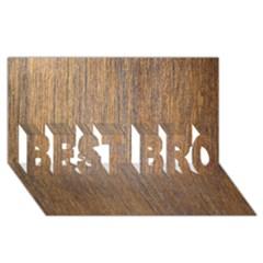WALNUT BEST BRO 3D Greeting Card (8x4)