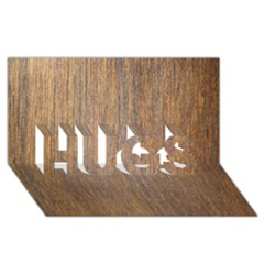 Walnut Hugs 3d Greeting Card (8x4)